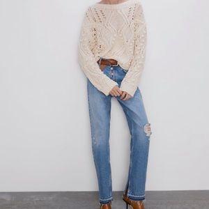ZARA - HI-RISE straight leg jeans 👖